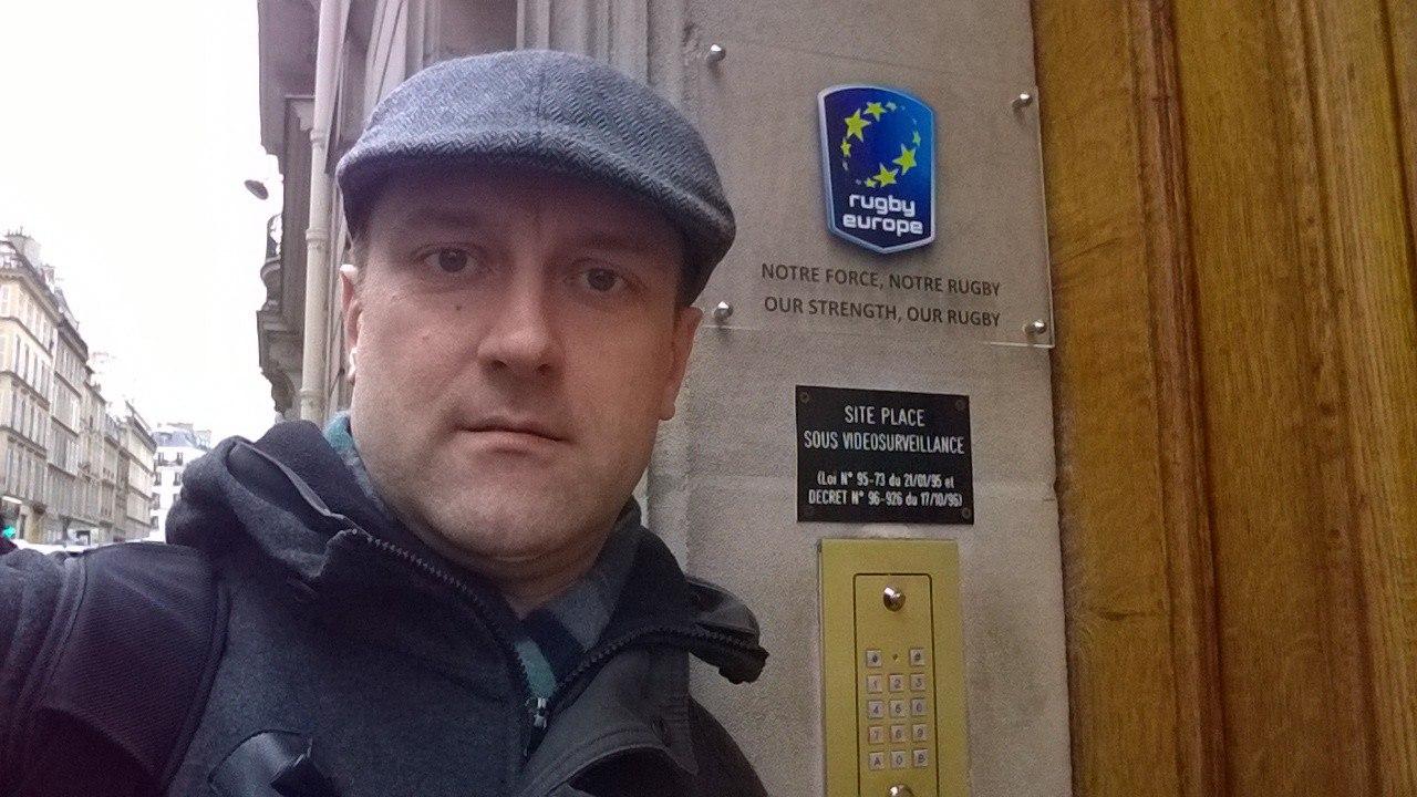Заседание Rugby Europe в Париже